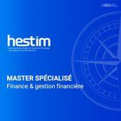 Master spécialisé en Finance et gestion financière-HESTIM