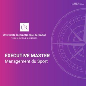 Executive Master en Management du Sport – UIR