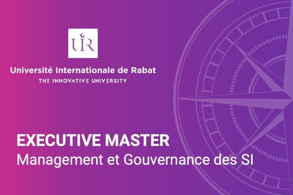 Executive master en Management et Gouvernance des SI - UIR