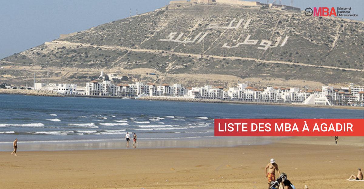 Liste des MBA à Agadir