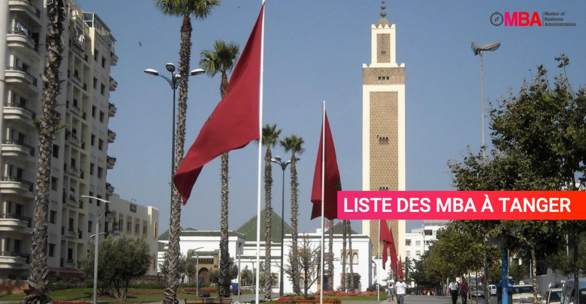 Liste des MBA à Tanger