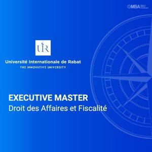 Master Droit des affaires et fiscalité - UIR