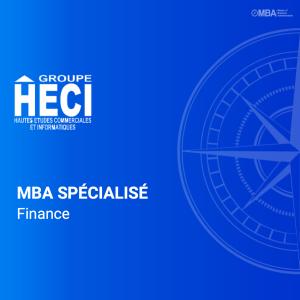 MBA Spécialisé en finance - HECI