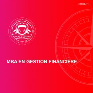MBA en Gestion Financière - PIIMT