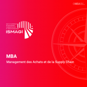 MBA en Management des Achats et de la Supply Chain - ISMAGI