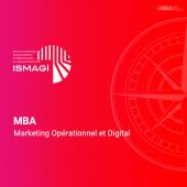 MBA en Marketing Opérationnel et Digital - ISMAGI