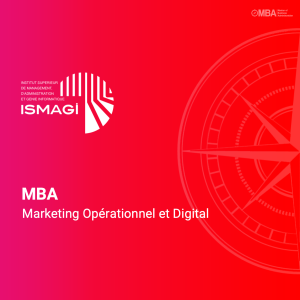 MBA en Marketing Opérationnel et Digital - ISMAGI