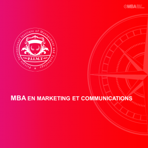 MBA en Marketing et communications - PIIMT