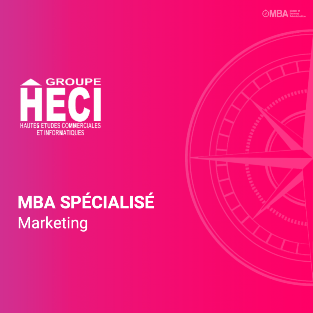MBA spécialisé en marketing