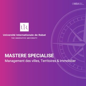 Mastère Spécialisé en Management des Villes, des Territoires et de l'Immobilier - UIR