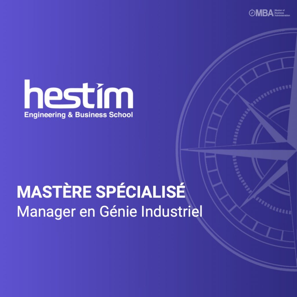 Mastère spécialisé en Manager en Génie Industriel - Hestim
