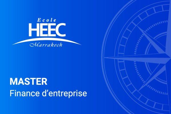 Master Finance d'entreprise - HEEC