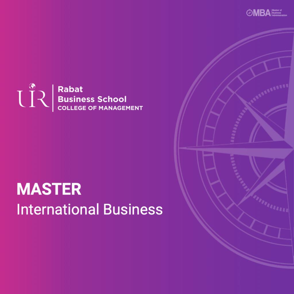 Master International Business - RBS