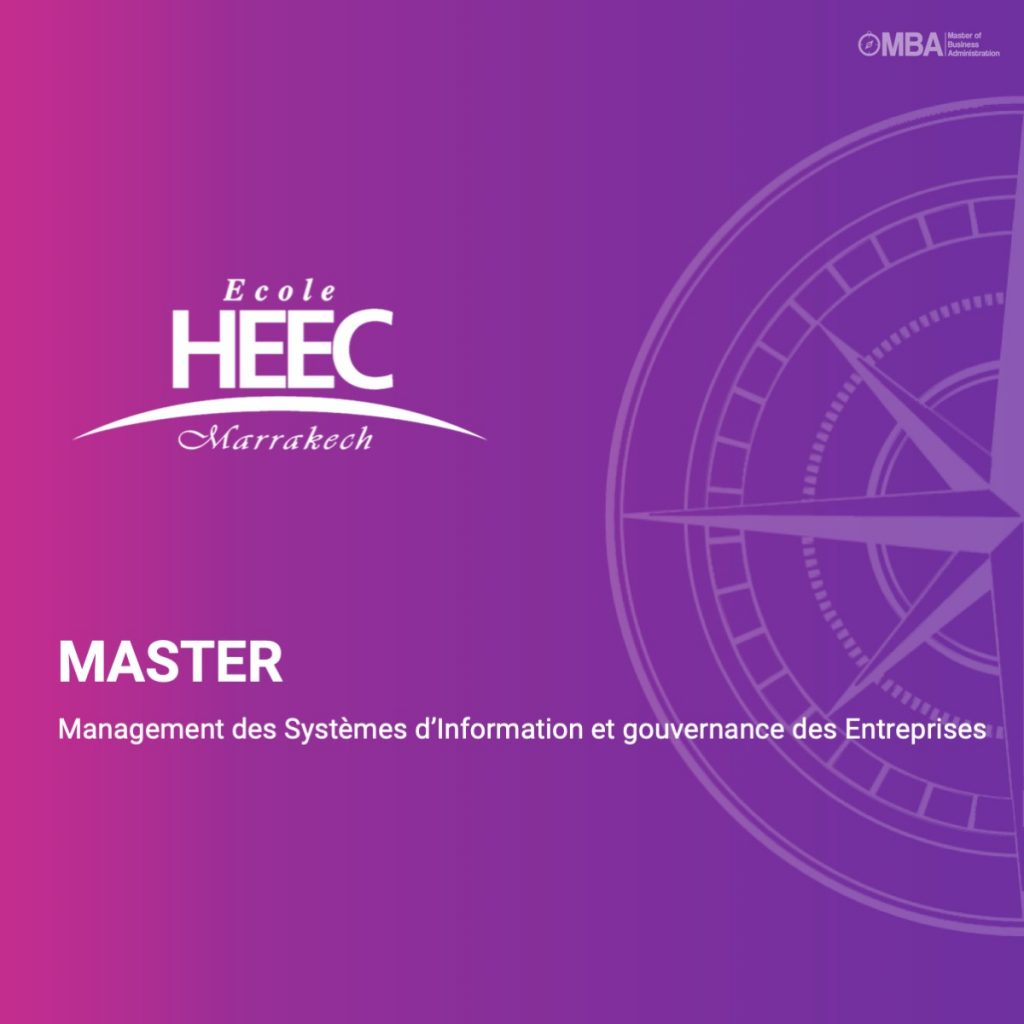 Master Management des Systèmes d'Information et gouvernance des Entreprises - HEEC
