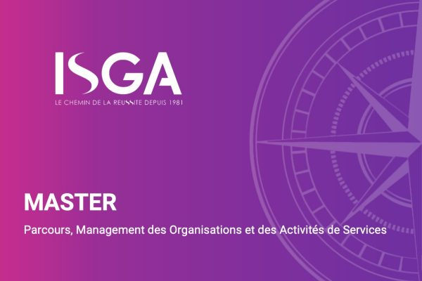Master Management des organisations - ISGA