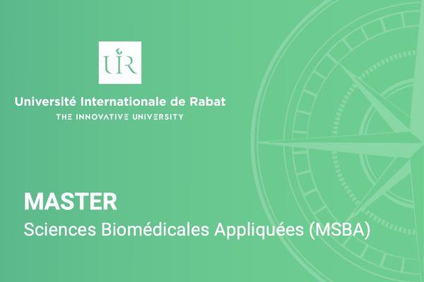 Master Sciences Biomédicales Appliquées (MSBA)