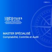 Master Spécialisé en Comptabilité, Contrôle et Audit – FSJES