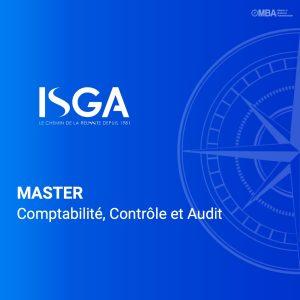 Master en Comptabilité, Contrôle et Audit - ISGA