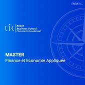 Master en Finance et Economie Appliquée - Rabat Business School