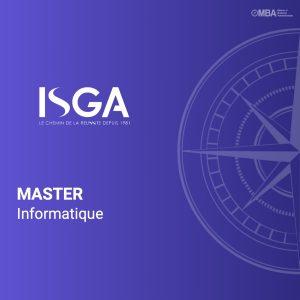 Master en informatique - ISGA