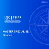 Master spécialisé en Finance - FSJES