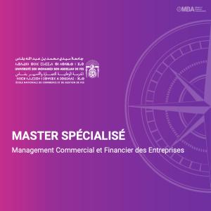 Master spécialisé en Management Commercial et Financier des Entreprises - ENCG F