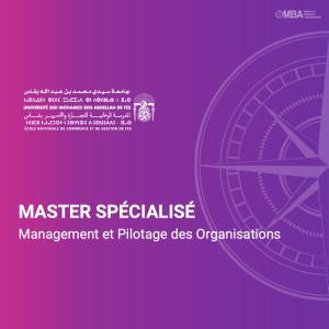 Master spécialisé en Management et Pilotage des Organisations - ENCG F