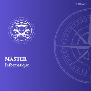 Master en informatique -PIIMT
