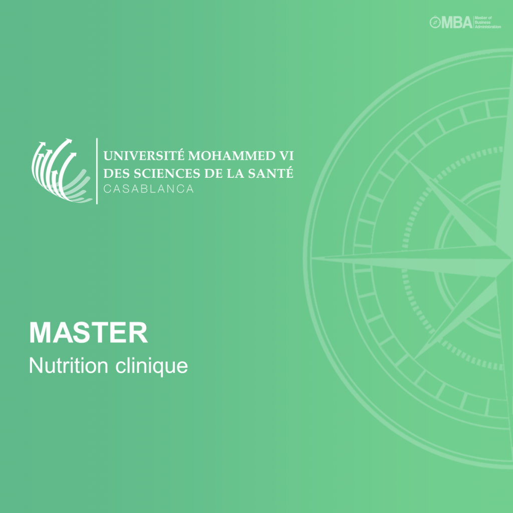 Master Nutrition clinique – UM6SS