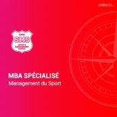 MBA spécialisé en management du Sport-SMS