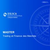 Master Trading et Finance des Marchés - ESLSCA I MBA.MA