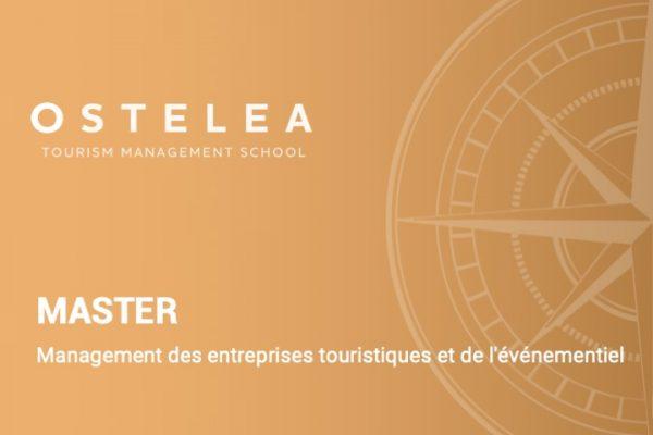 Master en management des entreprises touristiques et de l'événementiel- Ostelea