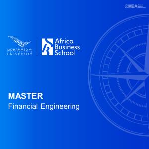Master in Financial Engineering – Africa Business School
