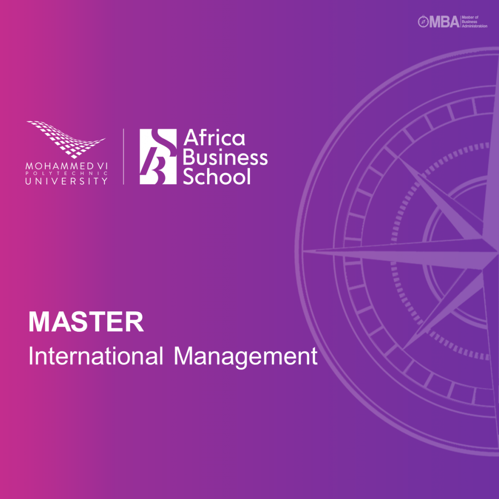 Master in International Management – Africa Business School
