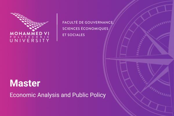 Master en Economic Analysis and Public Policy (EAPP) - UM6P