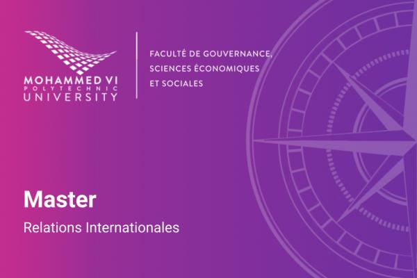 Master En Relations Internationales UM6P