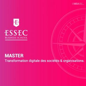 Master Transformation digitale des sociétés & organisations de l'essec