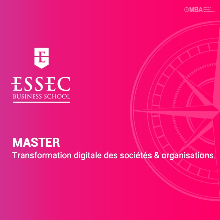 Master Transformation digitale des sociétés & organisations de l'essec