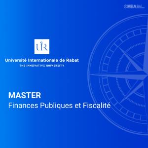 Master Finances Publiques et Fiscalité - UIR