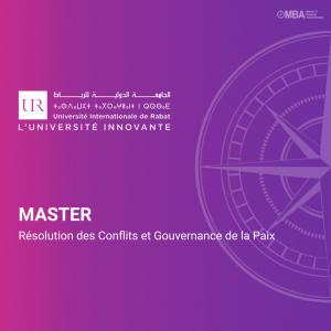 Master Résolution des conflits et Gouvernance de la Paix - UIR