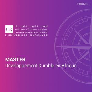 Master Développement Durable en Afrique - UIR
