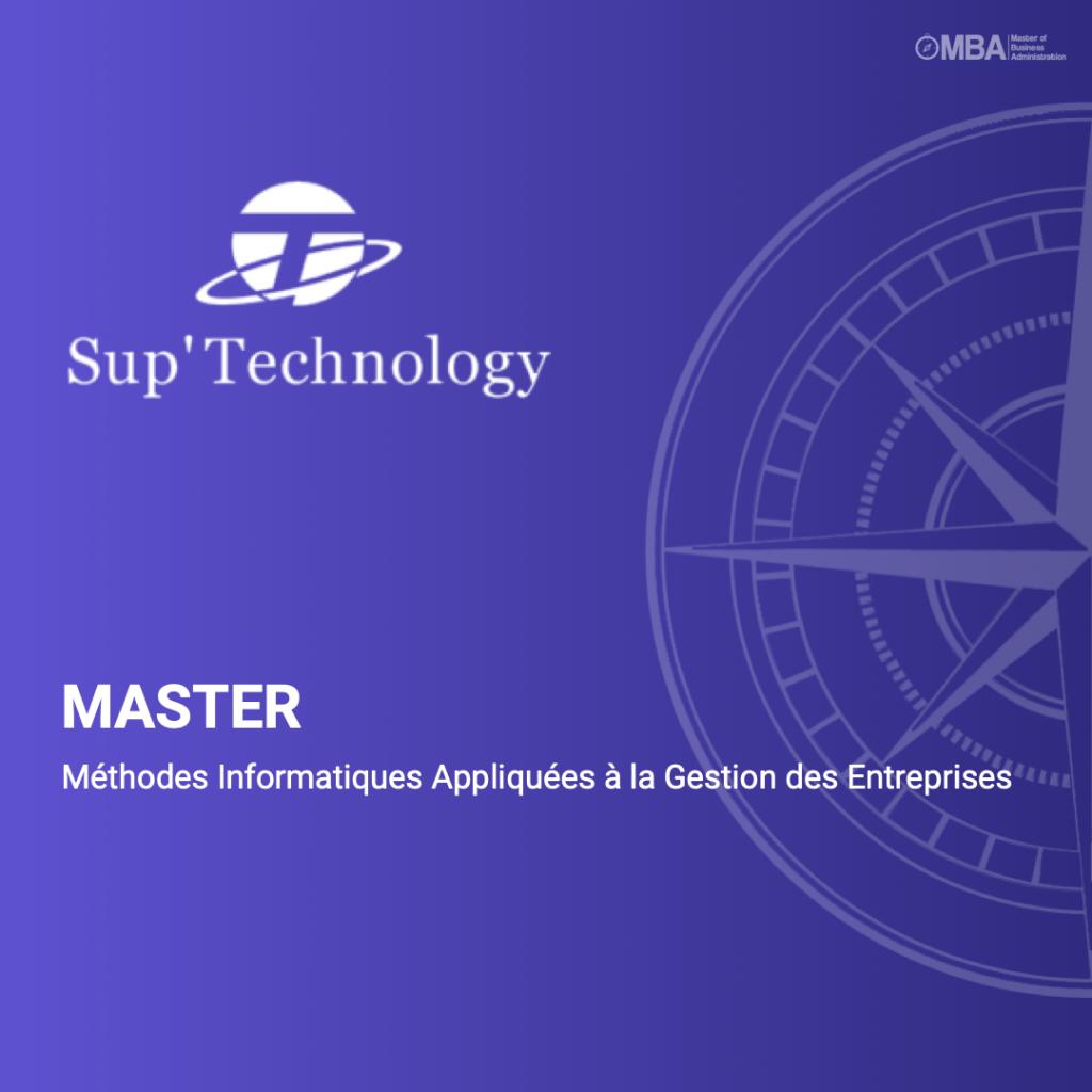 Master MIAGE - Sup'Technology