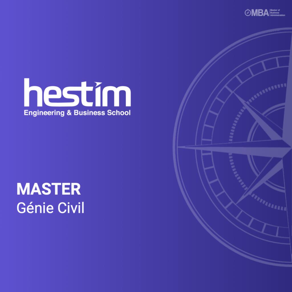 Master Génie Civil - HESTIM
