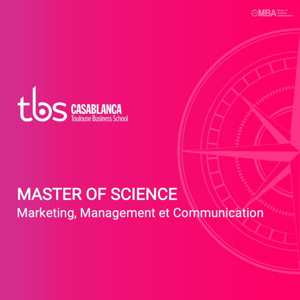 Master of science en marketing et communication
