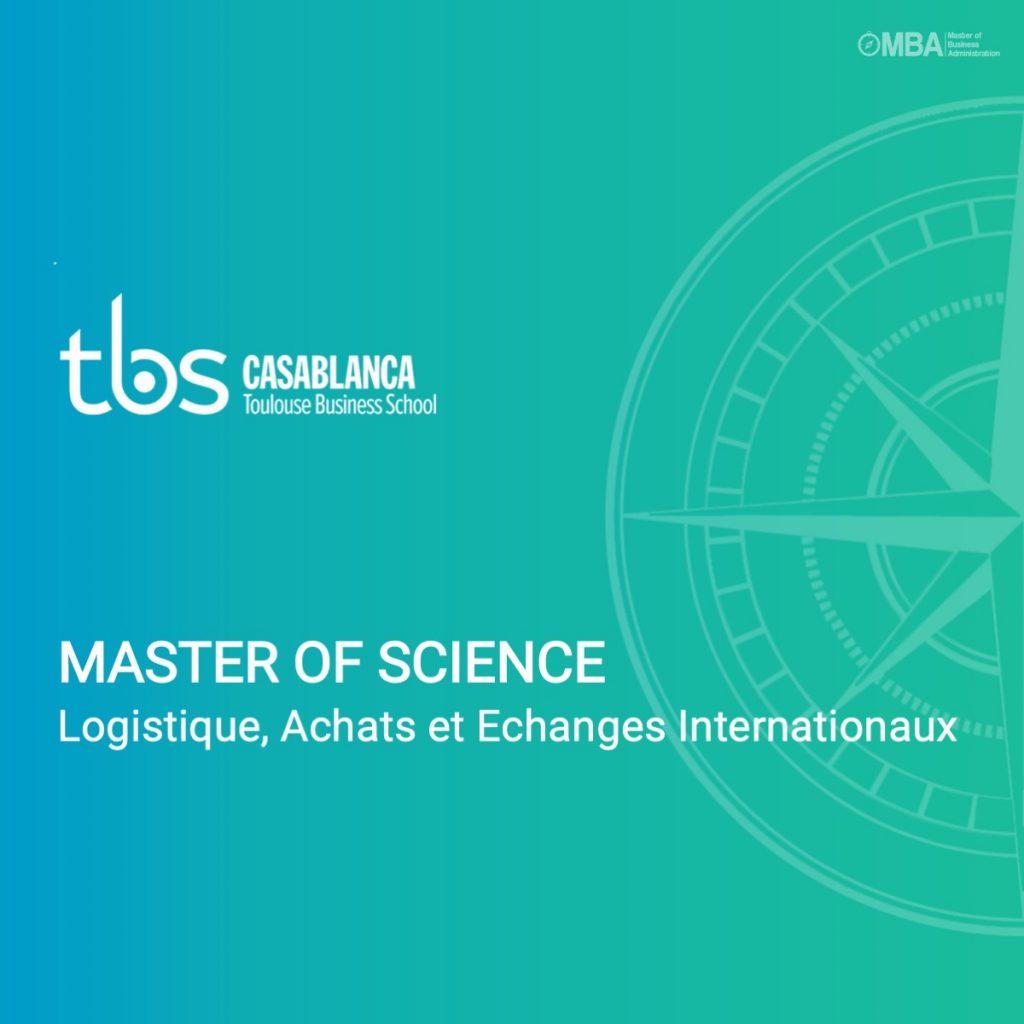Mastère of science en logistique
