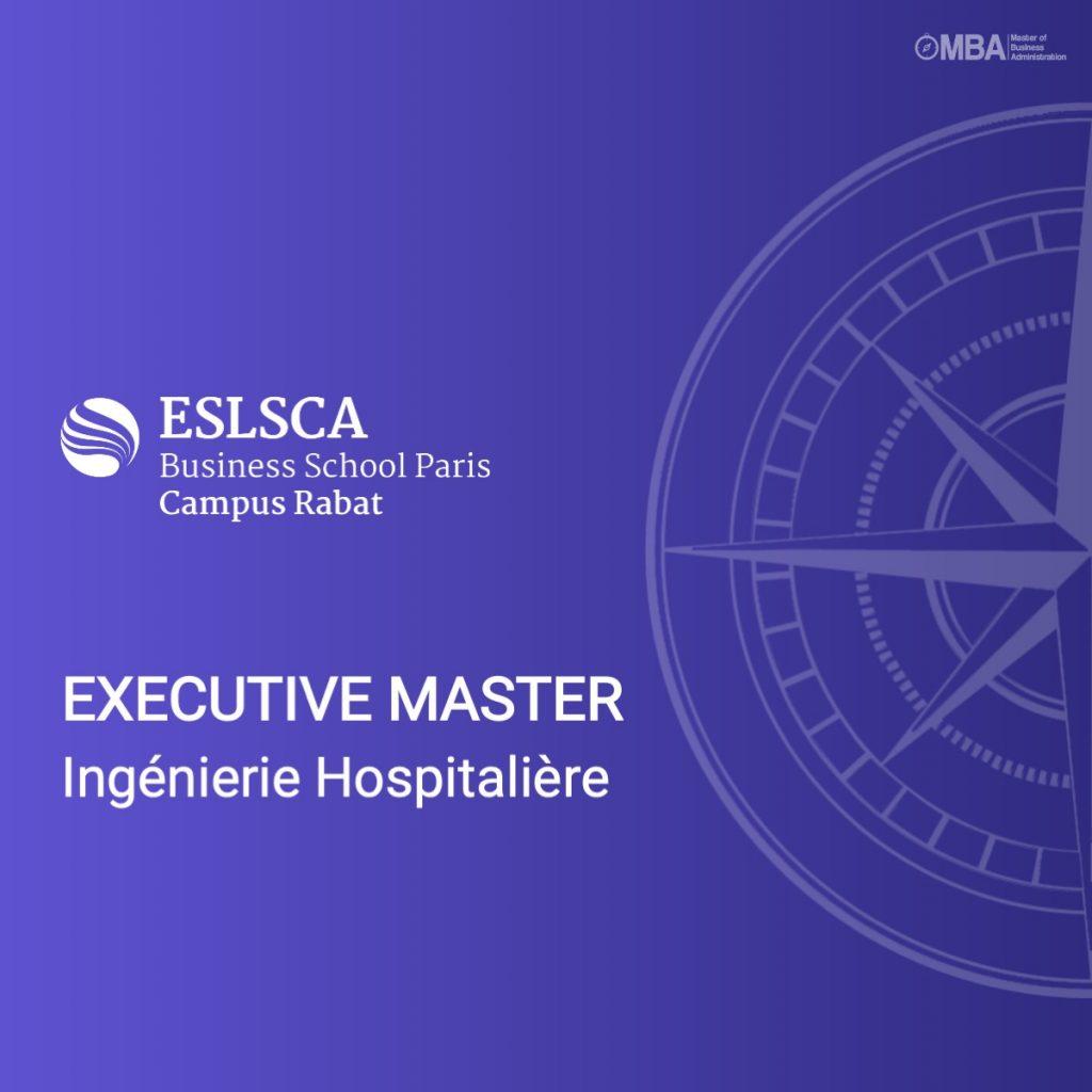 Executive master ingénierie ESLSCA